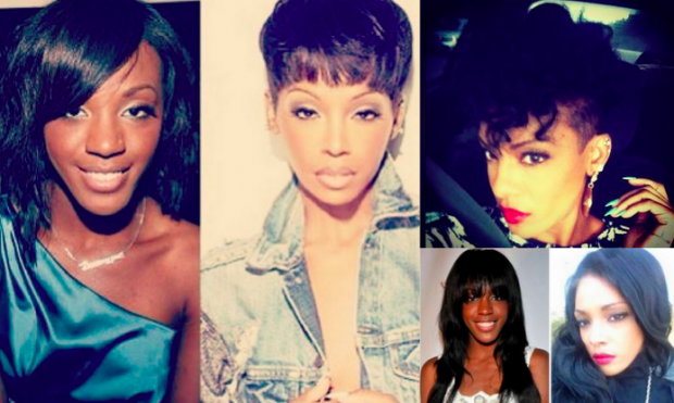 Dawn Richard Nose Job, Chin Reduction Photo