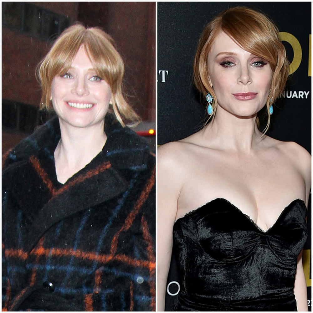 Bryce Dallas Howard Boob Job, Before After Photo