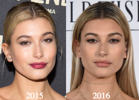 Hailey Baldwin Lips