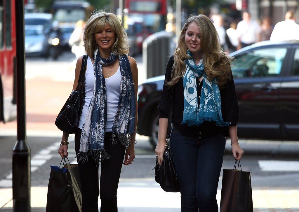Tiffany Trump 2009 with Marla Maples