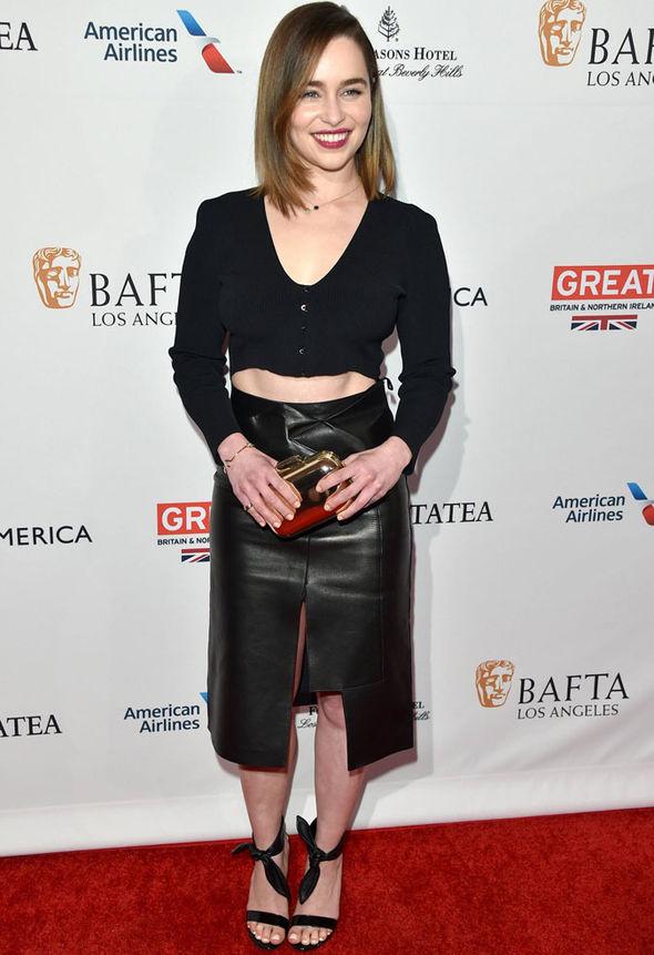 Emilia Clarke 2016 BAFTA Honors