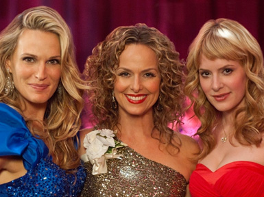 Melora Hardin 2012 Wedding Event Band Set