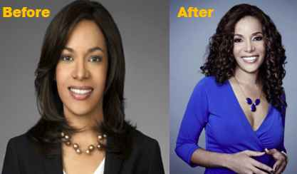 Sunny Hostin Botox, Facelit, Then and Now Photo