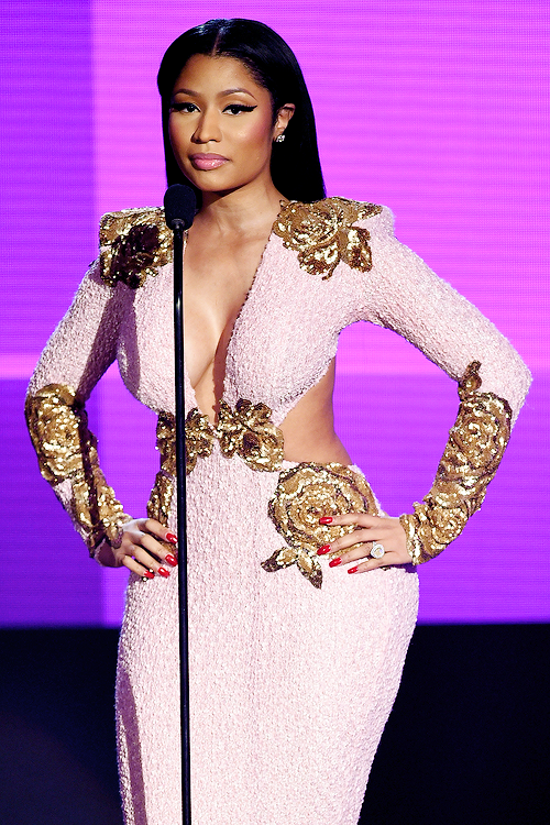 2015 American Music Awards at Microsoft Theater in Los Angeles, California