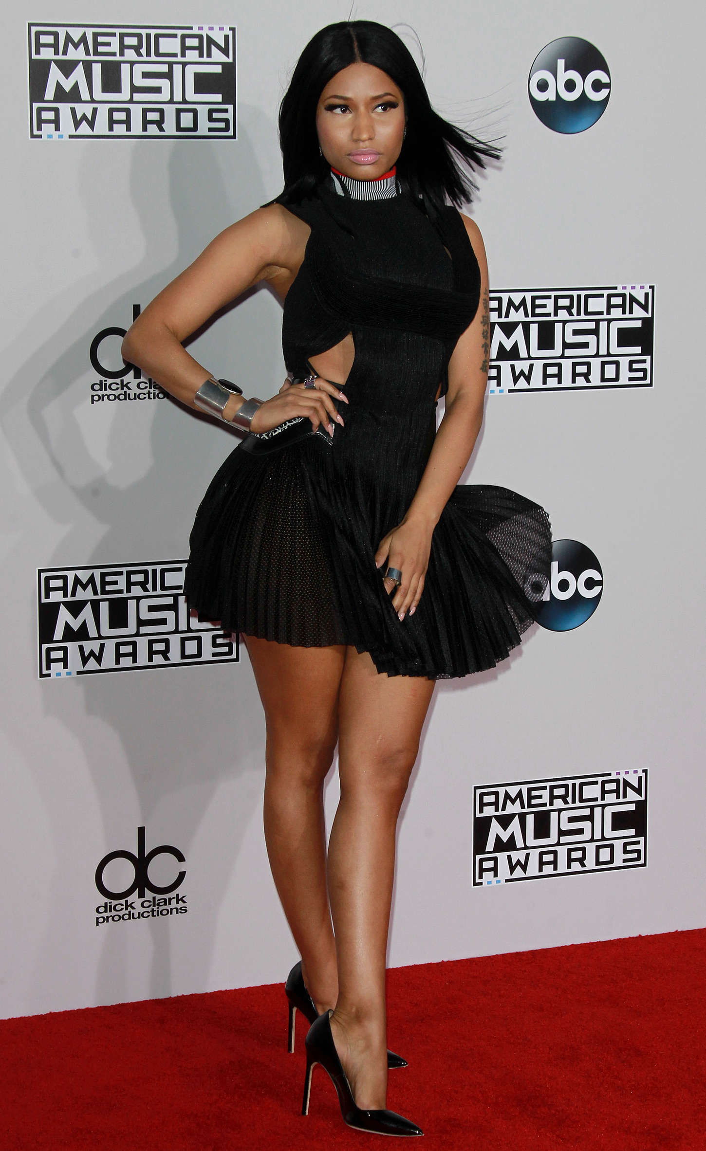 Nicki  42nd Annual American Music Awards held at Nokia Theatre L.A. Something