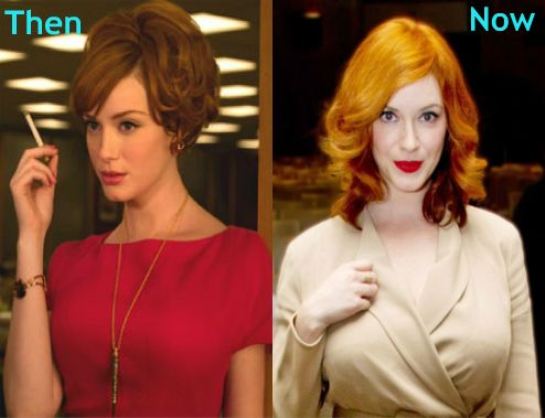 Christina Hendricks Plastic Surgery Before After Photos
