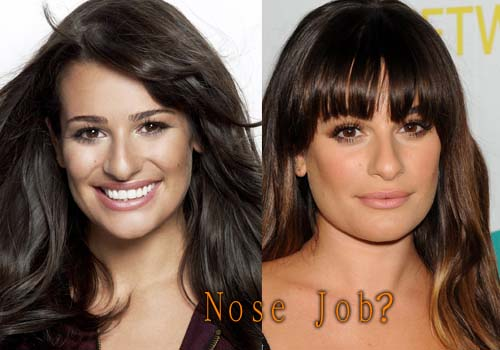 Lea Michele's Before And After Photos