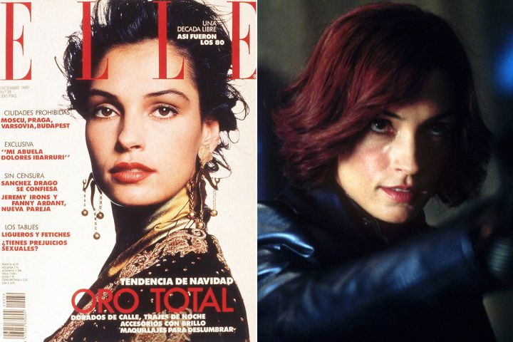 Famke Janssen's Plastic Surgery Before And After Pics