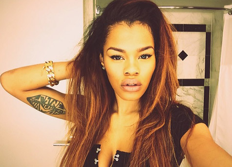 Teyana Taylor's Nose Job – Before And After