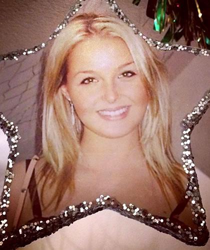 Camilla Luddington at 19 years old
