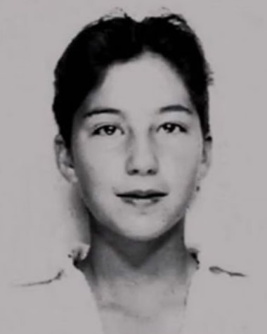 Cher as a teenager at 13 years old