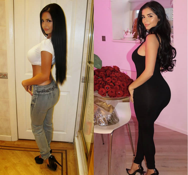 Has Demi Rose Mawby Had Butt Implants?