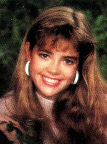 Denise Richards as a teenager