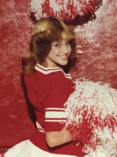 Kellyanne Conway was a cheerleader back then