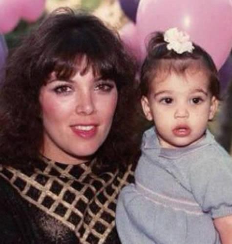 Kris Jenner during 1980s