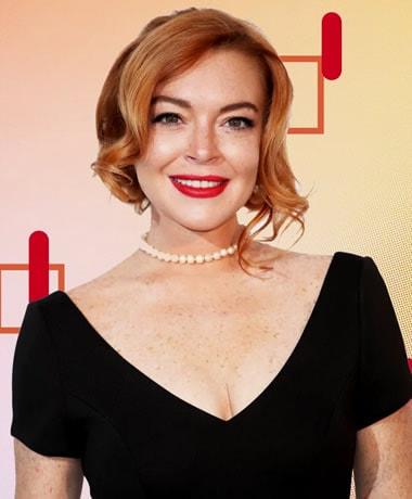 Lindsay Lohan in 2019