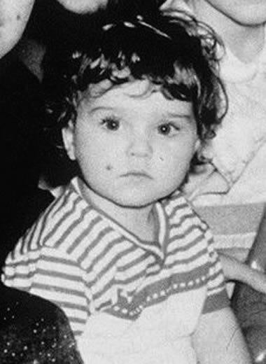 Madonna when she was a baby.