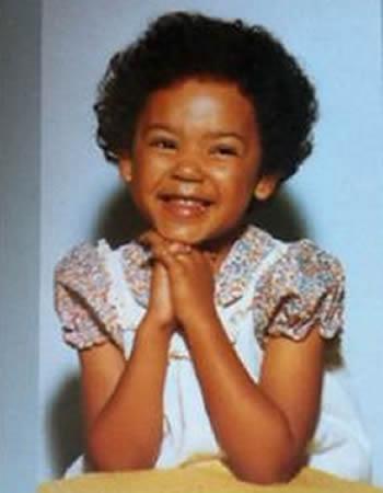 Mel B during her childhood