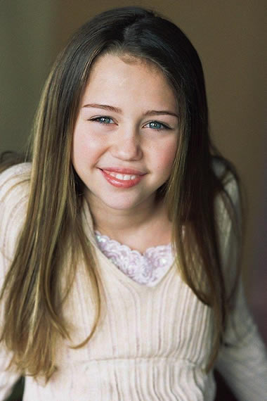 Miley Cyrus in 2004