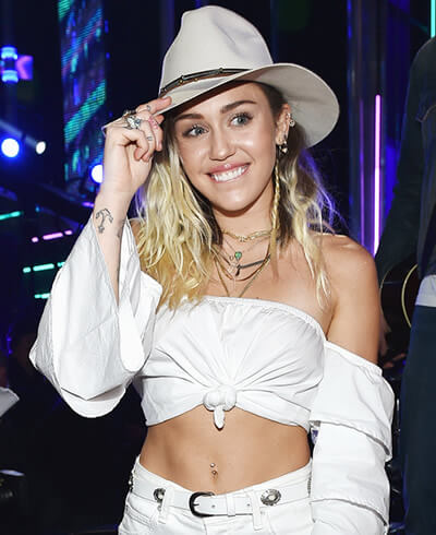 Miley Cyrus in 2017
