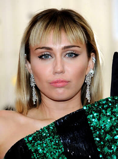 Miley Cyrus in 2019