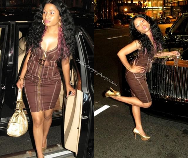 Nicki Minaj with skinny body