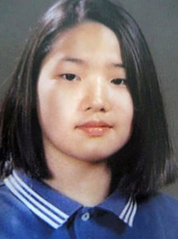 Park Min Young during school years