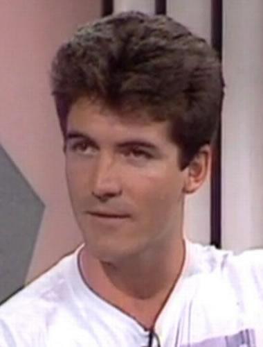 Simon Cowell during 1990