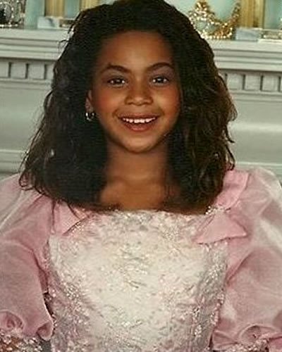 Young Beyonce when she was a child