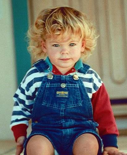 Zac Efron as a baby toddler